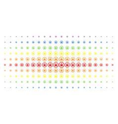 Cannabis spectral halftone matrix vector