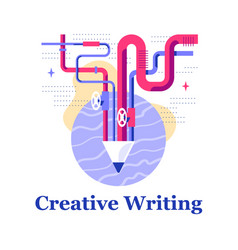creative writing storytelling courses creativity vector image