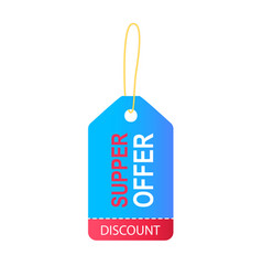Discount special offer banner vector