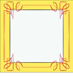 frame Element for design vector image