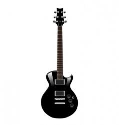 guitar vector vector image