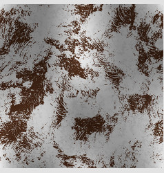Metallic foil with rust textured pattern vector