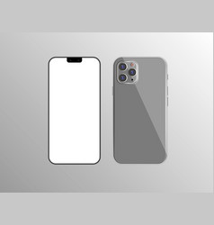 New iphone 11 flat graphic vector