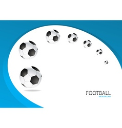 Football Background Template Design vector image vector image