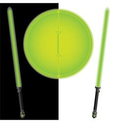 fantasy shield and swordsfifth variant vector image vector image