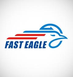 Eagle business logo vector