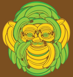 Banana Monkey vector image