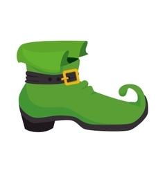Boot irish celebration vector