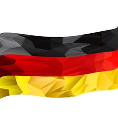 Germany flag textured vector