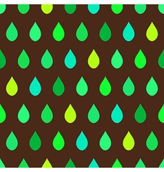 Green Tone Rain Brown Background vector