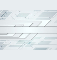 Light abstract technology modern background vector