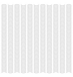 Seamless wave and vertical stripe pattern simple vector