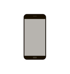 smartphone flat style vector image