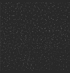 Stary night sky horizontal background vector
