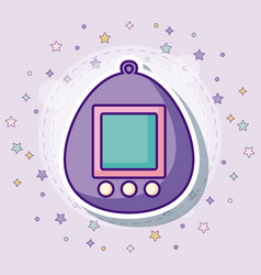 Tamagotchi icon image vector