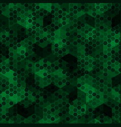 Texture military dark green colors forest vector