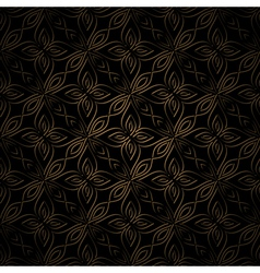 Dark gold pattern vector image