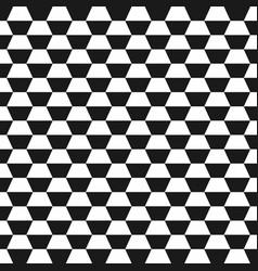 hexagon geometric seamless background vector image vector image