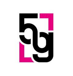 5g network wireless technology vector