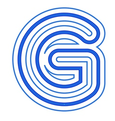 A letter g vector