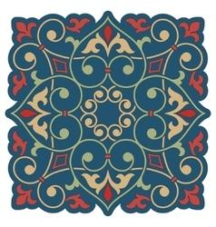 Arabic floral element for design vector