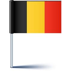 Belgian flag vector image