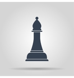 Chess Icon concept for design vector image