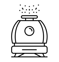 humidifier icon outline style vector image