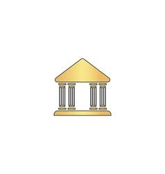 Justice court computer symbol vector