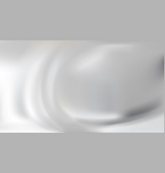 White abstract silver silk background vector