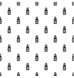 candy rabbit pattern seamless vector image