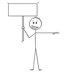 Cartoon man or businessman with arrogant smile vector