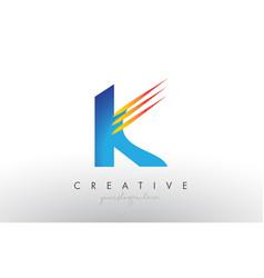 Creative corporate k letter logo icon design with vector