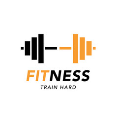 Fitness gym logo sign bodybuilding club vector