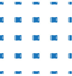 Harmonic icon pattern seamless white background vector