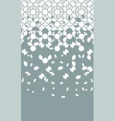 Oriental ethnic geometric background vector
