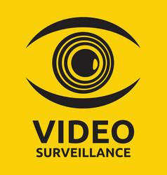 Video surveillance vector