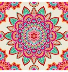 Ethnic boho hippie seamless pattern vector image vector image