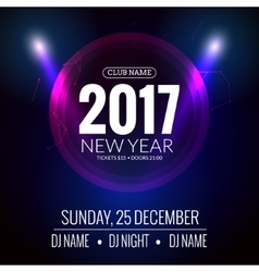 New year party design banner event celebration vector