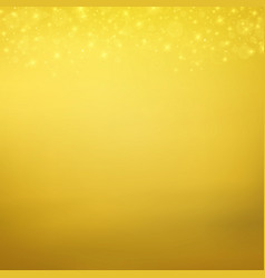 abstract of light gold particle gold glitters vector image