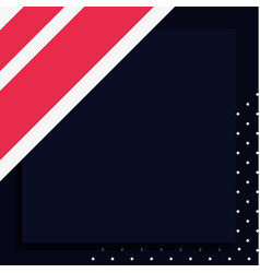 american flag national background pattern vector image