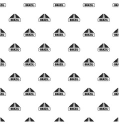 Brazil country pattern seamless vector