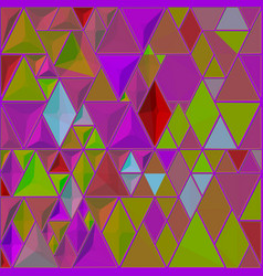 bright abstract mosaic pattern background vector image