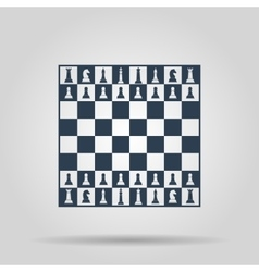 Chess board concept for vector image