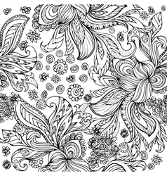 doodle seamless vector image