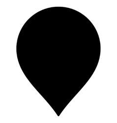 Map Marker Flat Icon vector image