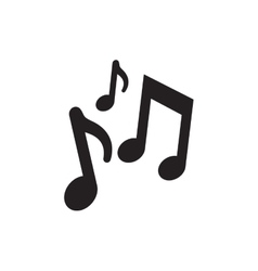 Music notes composite creative pictogram vector