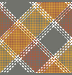 Retro mosaic plaid pixel seamless pattern vector