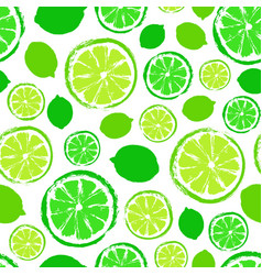 limes background painted pattern vector image vector image