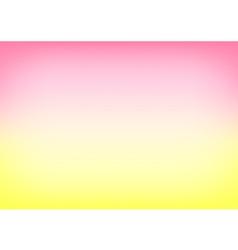 Yellow Pink Gradient Background vector image